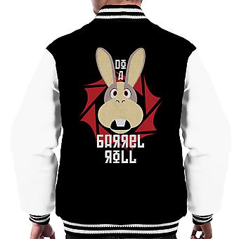 Do A Barrel Roll Star Fox Men's Varsity Jacket
