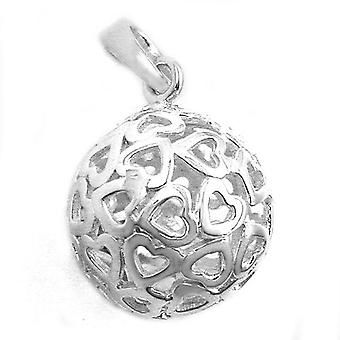 Filigree ball, pendant, Silver 925