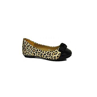 The Fashion Bible Angel Leopard Print Flats