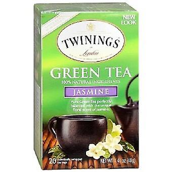 Twinings av London grönt te Jasmin 2 Box Pack
