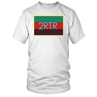 British Army 2 RTR Royal Tank Regiment TRF Ladies T Shirt