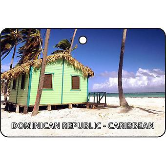 Dominican Republic - Carribbean Car Air Freshener