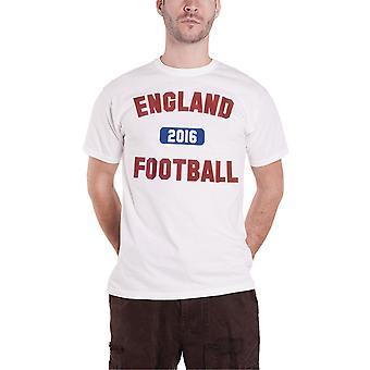 England Team T Shirt England Football logo new Official Mens White