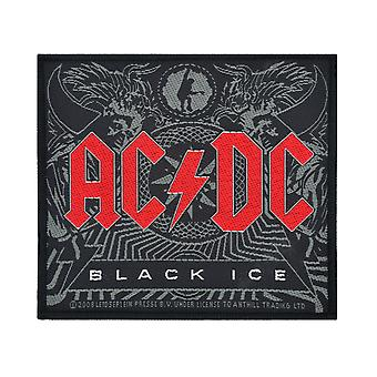 AC/DC Black Ice Woven Patch