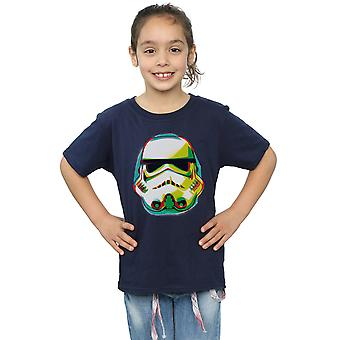 Star Wars Girls Stormtrooper Command Grafitti T-Shirt