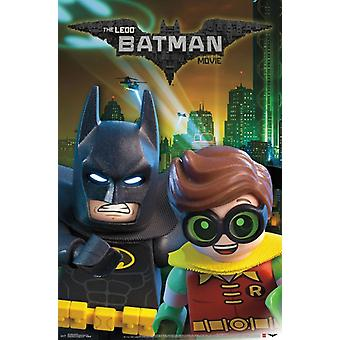 Lego Batman - Batman and Robin Poster Print