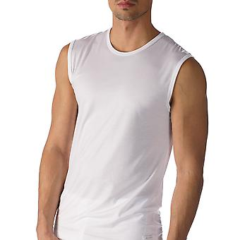 Mey 34237-101 Men's Network White Solid Colour Tank Vest Top