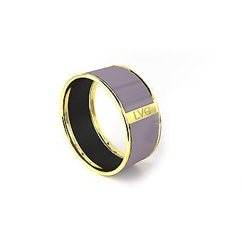 Legend Vogue - Pure LVG grey yellow gold Bangle Bracelet