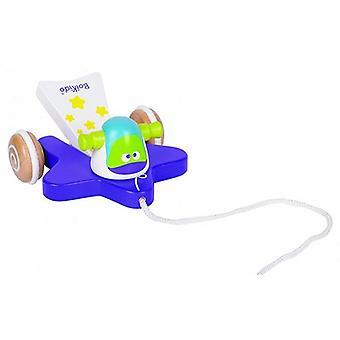 Tirer en bois Boikido Comet Space Toy pour 12 m +