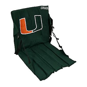 Miami Hurricanes Cushioned Roll Up Stadium Seat