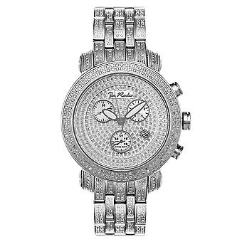 Joe Rodeo diamond men's watch - CLASSIC Silver 3.75 ctw