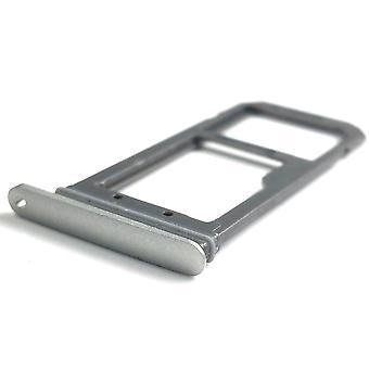 Voor Samsung Galaxy S7 Edge G935 SIM card houder Slot Micro SD kaart houder - Goud