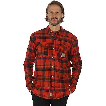 Regatta Mens Tyrus Coolweave Cotton Button Down Long Sleeve Shirt