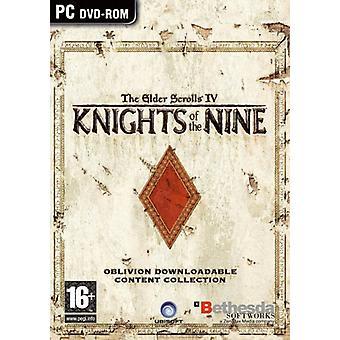 Oblivion riddare av de nio (PC DVD)