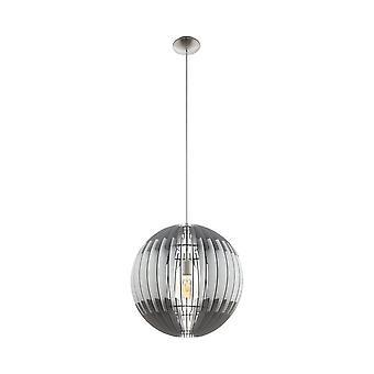 EGLO потолок подвесной одного света Dia: 500 Грау Weiss Грау/никель Olmero