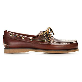Timberland Brown 21 Boat Rootbeer SM Mens Boat Shoes