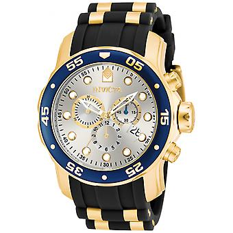 Invicta Pro Diver 17880 inox, poliuretano Chronograph Watch