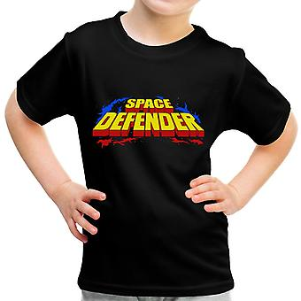 Space Defender Logo Kid's T-Shirt