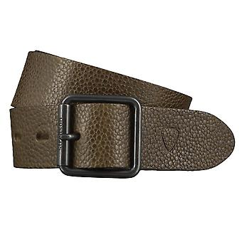 Strellson belts men's belts leather jeans belt olive 4420