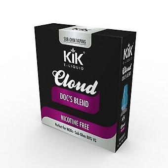 Kik 0MG Docs Blend MOD Cloud E-Liquid for Electronic Cigarette 3x10ml Bottles Nicotine Free