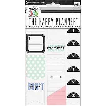Create 365 Happy Planner Stickers 6/Sheets -Don't Forget