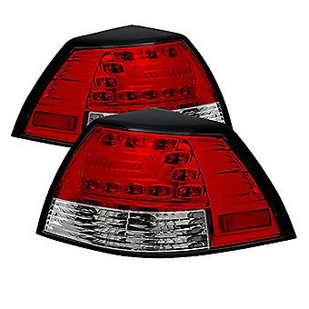 Spyder Auto ALT-YD-PG808-LED-RC Red Clear LED Tail Light