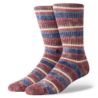 Stance Sarthe Socks - Maroon