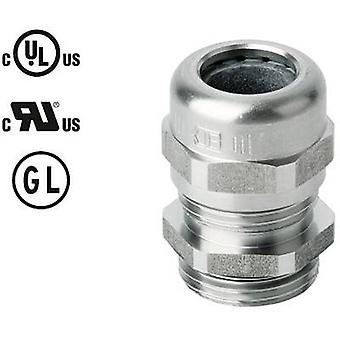 Jacob 50.616 ES Cable gland with strain relief M16 Stainless steel Stainless steel 1 pc(s)