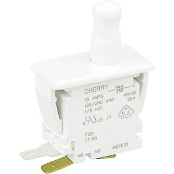 Cherry Switches F69-30A Pushbutton 250 V AC 10 A 1 x On/(On) momentary 1 pc(s)