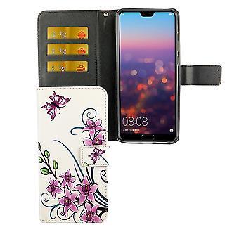 Funda de teléfono móvil para el teléfono Huawei P20 por flor de loto