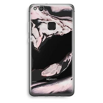 Huawei Ascend P10 Lite Transparent Case (Soft) - Pink stream