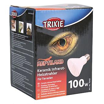 Trixie Ceramic Infrared Heater Ø 75X100 Mm, 100 W (Reptiles , Heaters , Lamps)