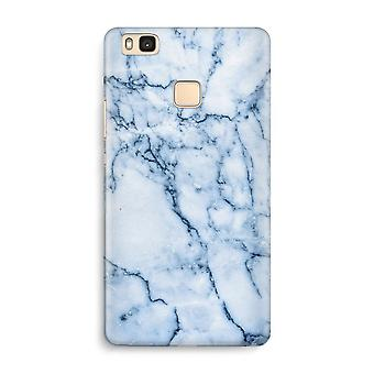 Huawei P9 Lite Full Print Case - Blue marble