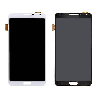Roba certificata® Samsung Galaxy Note 3 N9000 (3G) schermo (LCD + Touch Screen + parti) A + qualità - nero / bianco