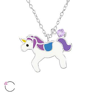 Unicorn - 925 Sterling Silver Necklaces - W32739x