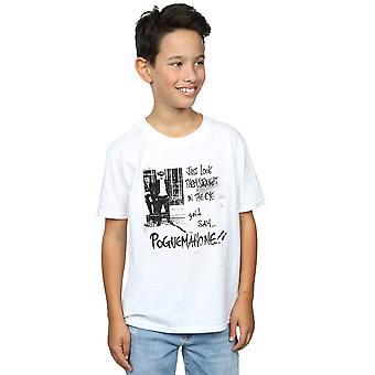 Die Pogues Jungs direkt In das Auge T-Shirt