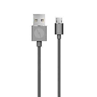 Champion Micro-USB cable Premium Grey 2 m