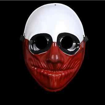 Clown Purge masker maskerade partij partij halloween-bruin-wit