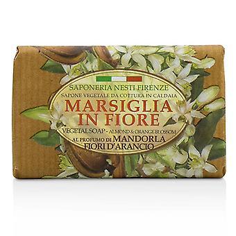 Nesti Dante Marsiglia In Fiore Vegetal Soap - Almond & Orange Bloosom - 125g/4.3oz