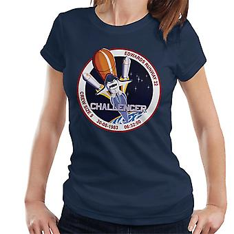 NASA STS 8 Challenger Mission Badge Women's T-Shirt