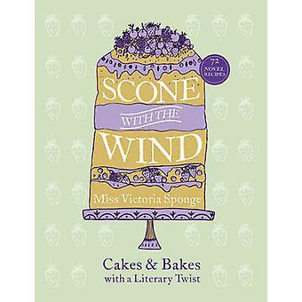 ケーキや Victori によって文学的なひねりを加えた焼き風スコーン