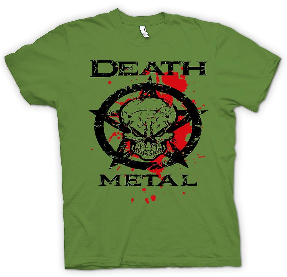 Mens T-shirt - Death Metal - Thrash Black Metal - Music