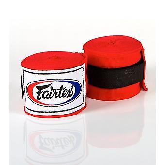 Fairtex HW2 mão envolve vermelho