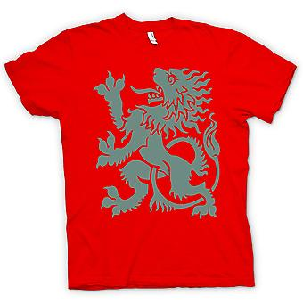 Womens T-shirt - Welsh Dragon - Heraldy - Cool