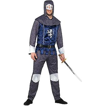 Knights men's costume chain mail optics Carnival of medieval medieval knight costume