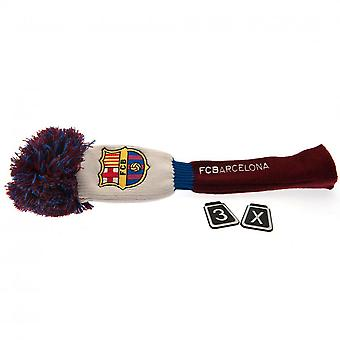 FC Barcelona Official Fairway Pompom Headcover