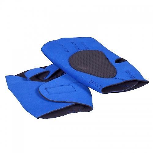 Gants d'entrainement n�opr�ne noir/bleu