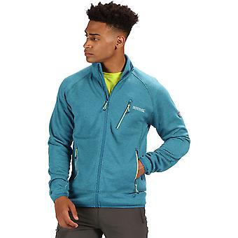 Regatta Mens Harva Polyester Wool Blend Full Zip Jacket