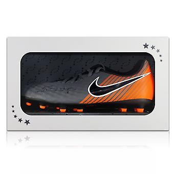 Andres Iniesta Signed Magista Football Boot In Gift Box
