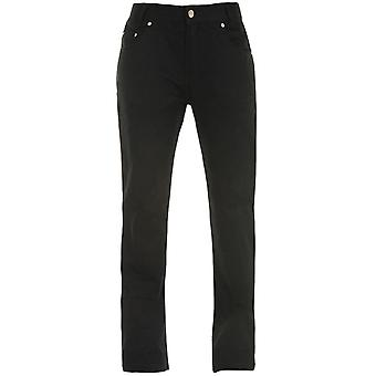 Bull-It Black Ebony Easy SR6 - Xlong Womens Motorcycle Jeans